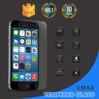 Handphone accessories 2015 !! ultra clear 9h tempered glass screen protector for iphone6 6plus protective film