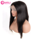 Full Lace Wigs Virgin Hair Unprocessed Straight Brazilian Remy Human Cuticle Aligned Hair Wig Vendors Black Perruque 150Density