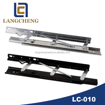 Heavy-duty Spring Single Side Lifting Table Guide Rail(table extension mechanism)