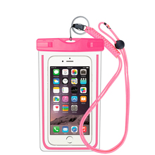 FREE SAMPLE Manufacturer IPX8 PVC Small Waterproof Bag Smartphone Pouch for Iphone 6+