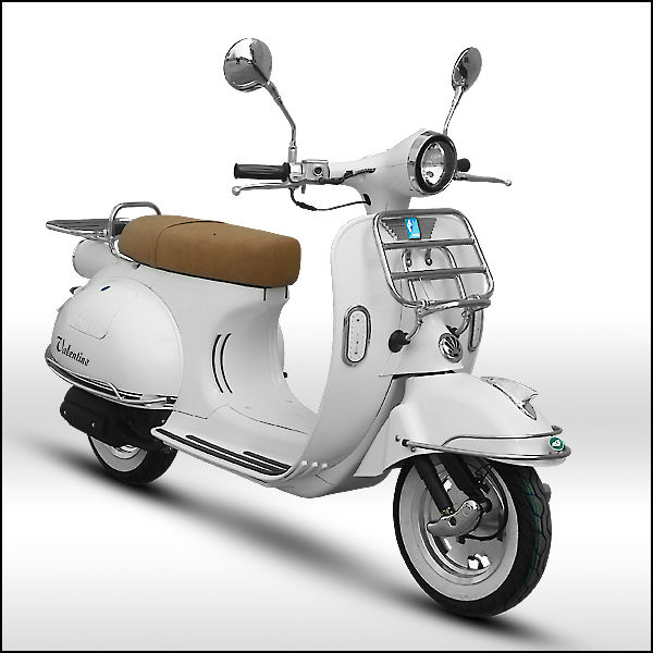 ZNEN SCOOTER Retro Vespa with certificates of EEC, EPA, DOT