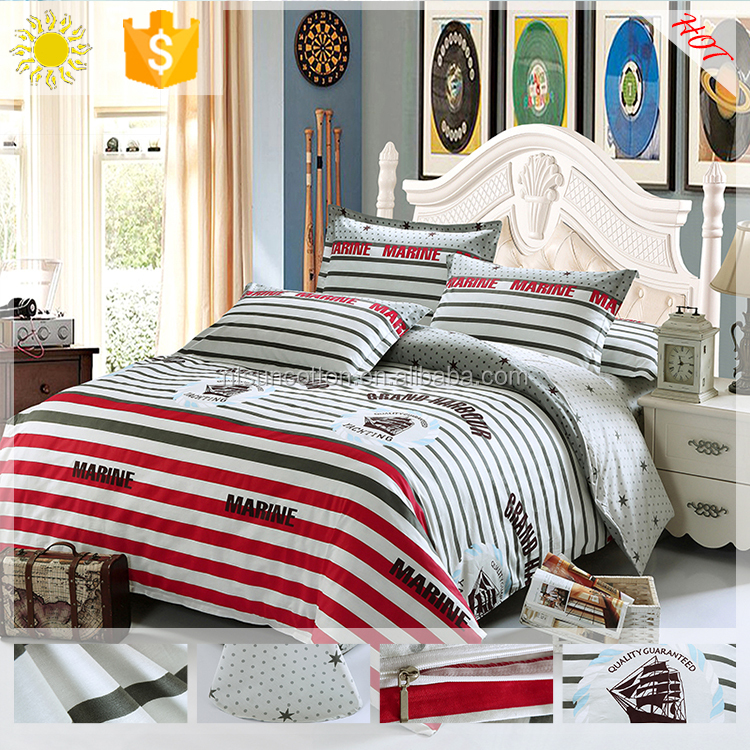 Cotton King Size 3d Kids/adult Cartoon Printed Bedding Sets