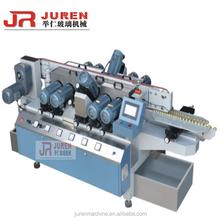 Sophisticated Small Glass Straight Line Double Edger industrial glass processing machine