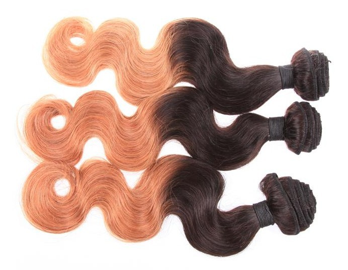 Double Weft Factory Brazilian Human Hair Full Cuticle Virgin Human Hair Weaving