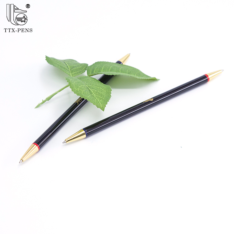 New 2018 best selling school ballpoint stationery products promotional twist slim metal ball pen