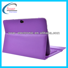 Bluetooth Keyboard Leather Case for Samsung Galaxy Note 10.1