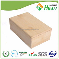 wholesale eco friendly fitness equipment bamboo yoga bricks