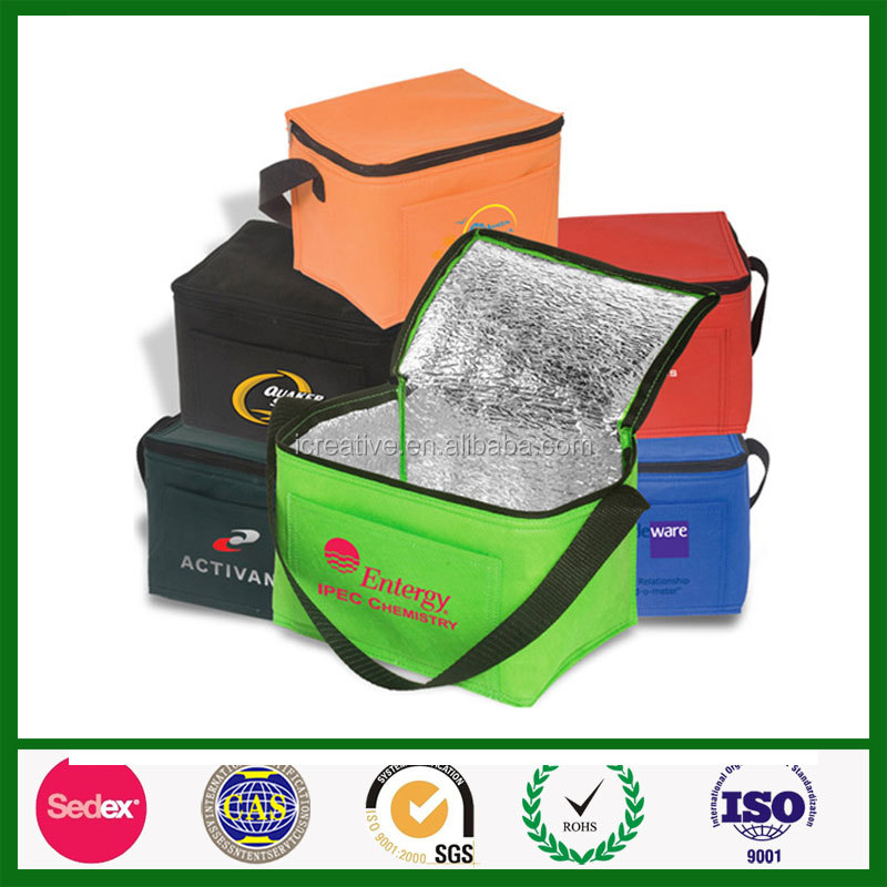 Custom promotional cool carry mini portable cake cooler bag