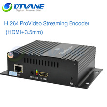 (DMB-8800A Classic) Free Shipping IP Video Converter IPTV Encoder for IPTV Wowza Server Streaming Solution
