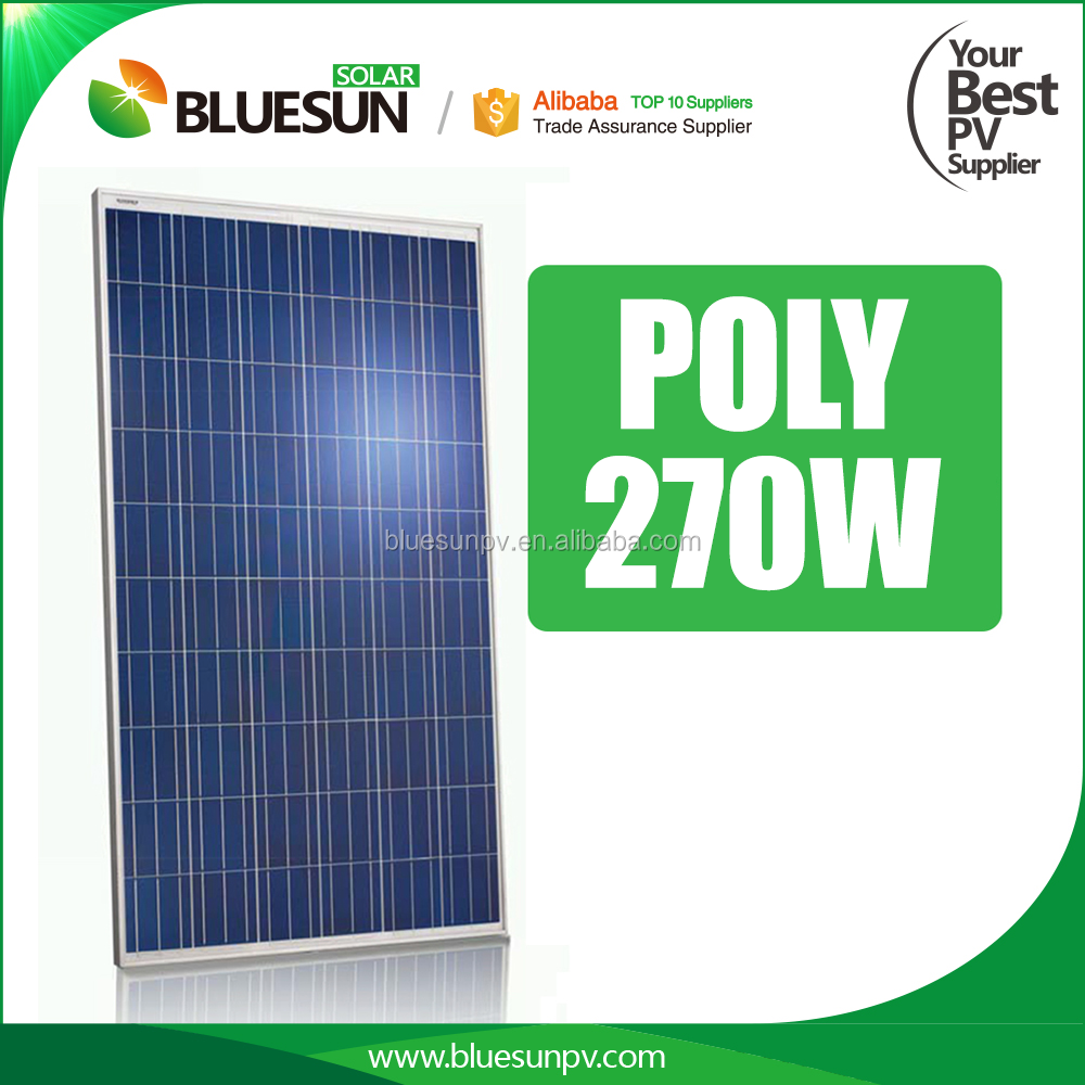 High efficiency low price 270w solar panel price polycrystalline for solar system