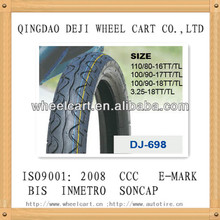 indonesia model motorcycle tubeless tyre 100/90-17