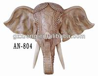 polyresin animal wall hanging for home decoration