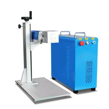 Professional Hotselling Fiber Laser Marking Machine For Metal