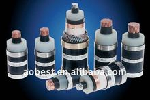 hot selling single core 33kv xlpe insulated aluminum wire armoured power cable