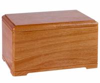 Wood Pet Funeral Urn Cremation Urn