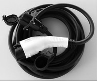 16amp 32amp 50amp SAE J1772 Extension Cord & J1772 Plug and Socket Extension Cord