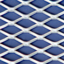2mm low-carbon steel stretched expanded metal mesh for bbq grill