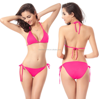 Wholesale sexy school hot korean teen girl bikini backless brand name