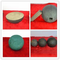 Grinding Iron Balls Cast Iron Ball for Mill with Low Breakage and Good Wear-Resistance