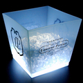 hot supply OEM plastic led ice bucket for beer promotional project