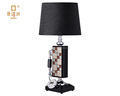 Italian Resin Retro Table Lamp With Telephone For Vintage Furniture