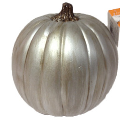"2018 Best quality halloween decoration 9"" Pu pumpkin plastic pumpkins"