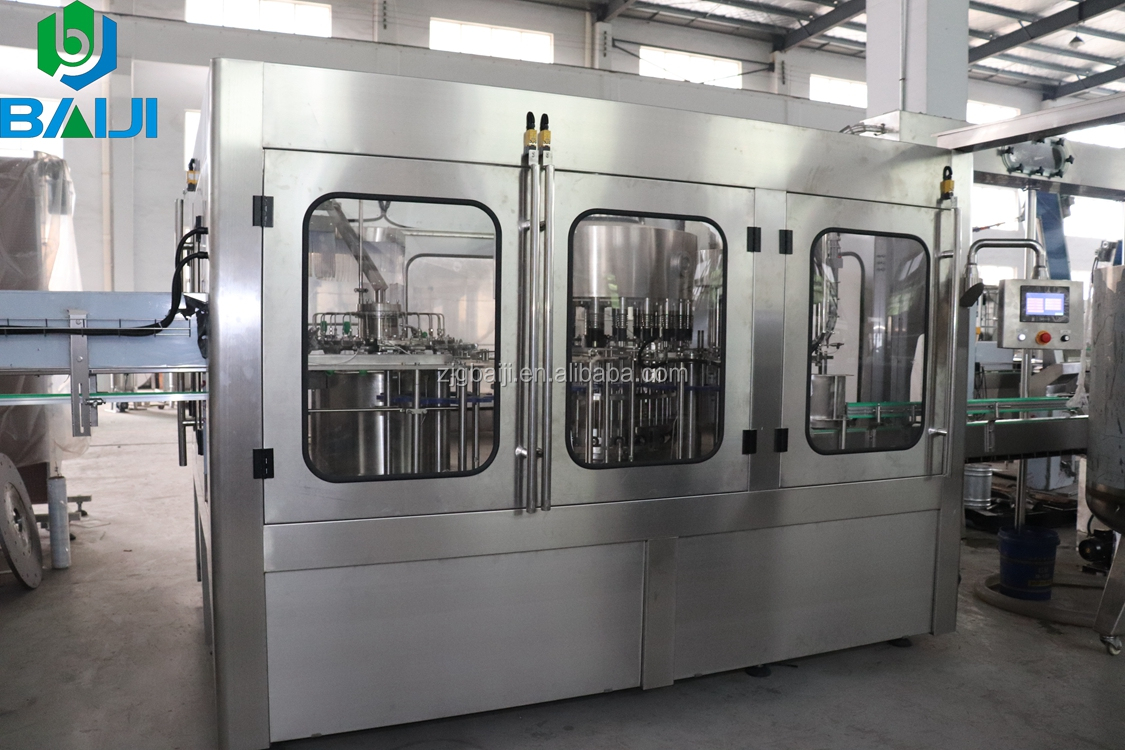 Good price automatic 8-8-3 3000bph flavoured rose water filling machine for sale