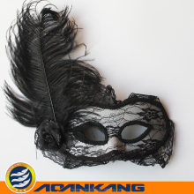 good looking ostrich feather mask for Easter Day