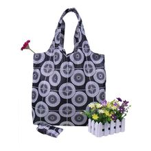 Cheap Nonwoven Folding Printed Totes With Zipper Pouch