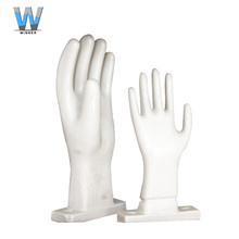 Online shopping china manufacture ceramic glove hand moulds