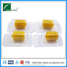 Disposable Medical Yellow Heparin Stopper for IV Catheter