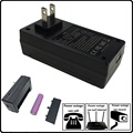 Wall plug 5v 1a 2a ac power adapter for IP camera with backup battery
