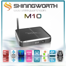 Shiningworth factory MXQ M10 mxq Amlogic S812 Kodi 14.2 XBMC Kodi Android 4.4 Quad Core 2.4g/5g Wifi 4K Smart TV Box DRM