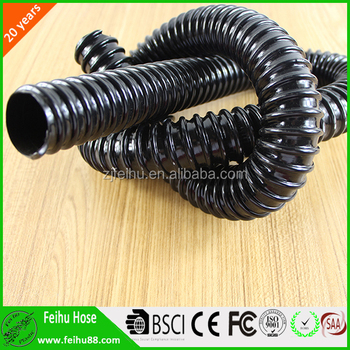 Flexible corrugated PVC conduit tube