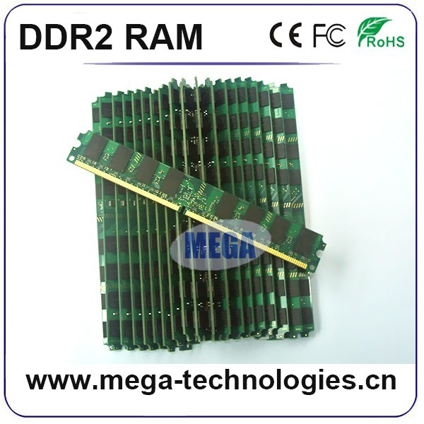 desktop ddr2 2gb 800 buss 16chips ram memory