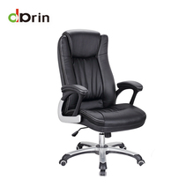 Modern adjustable leather ergonomic rotating manager office chair