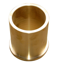 Bronze bush sliding bearing