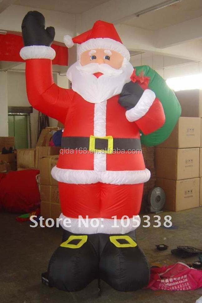 Customized christmas inflatable santa claus, Inflatable big snowman, outdoor Christmas model inflatable