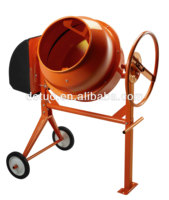 CE certificate Cast iron gear 120L Concrete mixer
