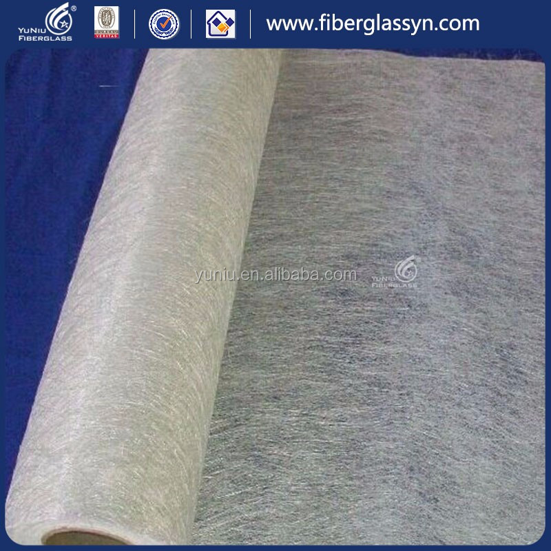 supplier staple raw materials reinforced fiberglass chop mat Powder or Emulsion (225gsm-600gsm)