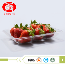 multipurpose transparent cake plastic oyster tray with low price