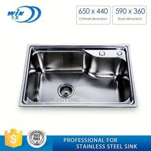 Single Bowl Stainless Steel Kitchen Sink Chinese Kitchen Appliances Manufacturers