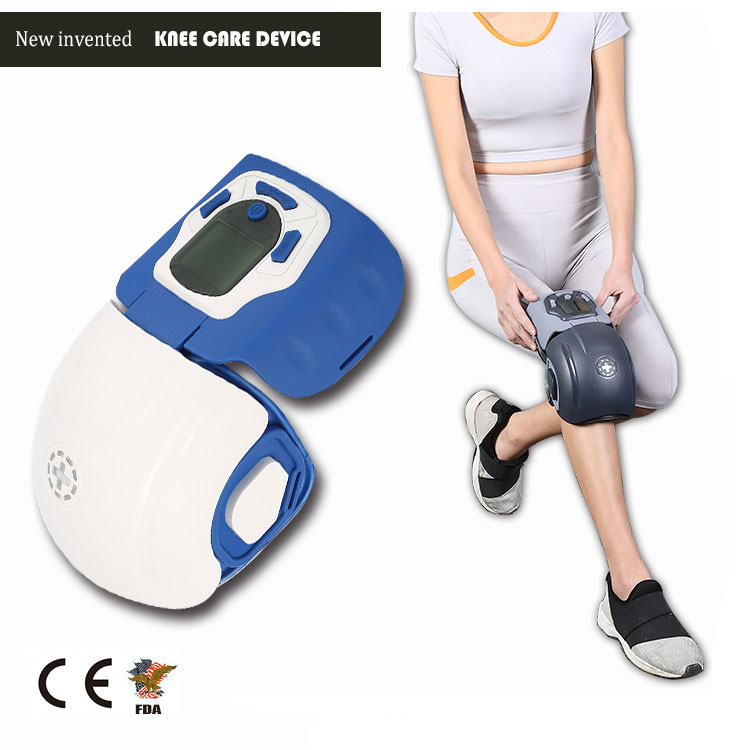Infrared light and heat therapy knee pain relief massage vibrator <strong>massager</strong> for elderly