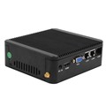 Fanless Mini Celeron J1900 Cloud computer PC Support 4 lan port