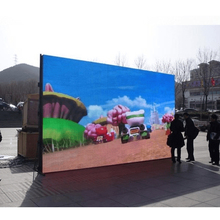 advertising outdoor led video wall panel p4.81 cabinet