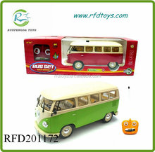 Happy 4ch rc plastic school bus toys with light music rc bus