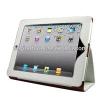 New best sell for both ipad 2 and ipad 3 leather case