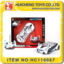 1:12 funny 4ch kids hobby rc car kit with with rechargeable battery and light
