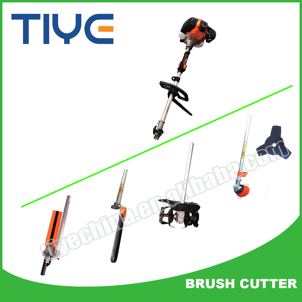 Farm Tools Multi Purpose Gasoline Pruning Tools Hedge Trimmer 5 in 1 Brush Cutter Grass Trimmer Cultivator
