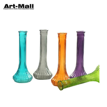 Competitive Hot Product Stained Cylinder Tall Glass Vase